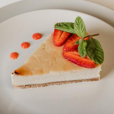 עוגת גבינה טבעונית